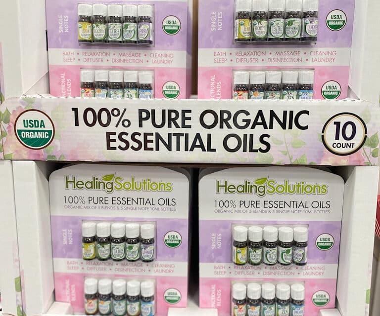 Costco Essential Oils Set