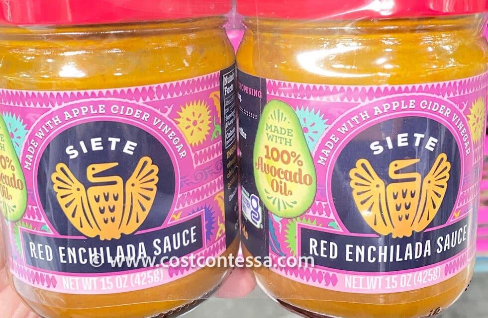 Siete Foods Enchilada Sauce at Costco