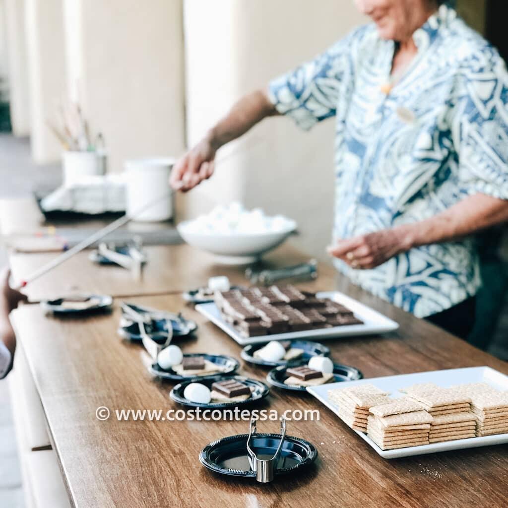 Grand Hyatt Kauai - Things to do at Resort with Kids - Free S'mores Activity