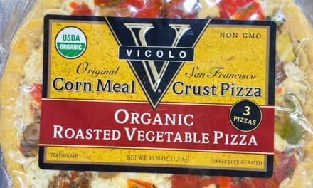 New Organic Pizza at Costco