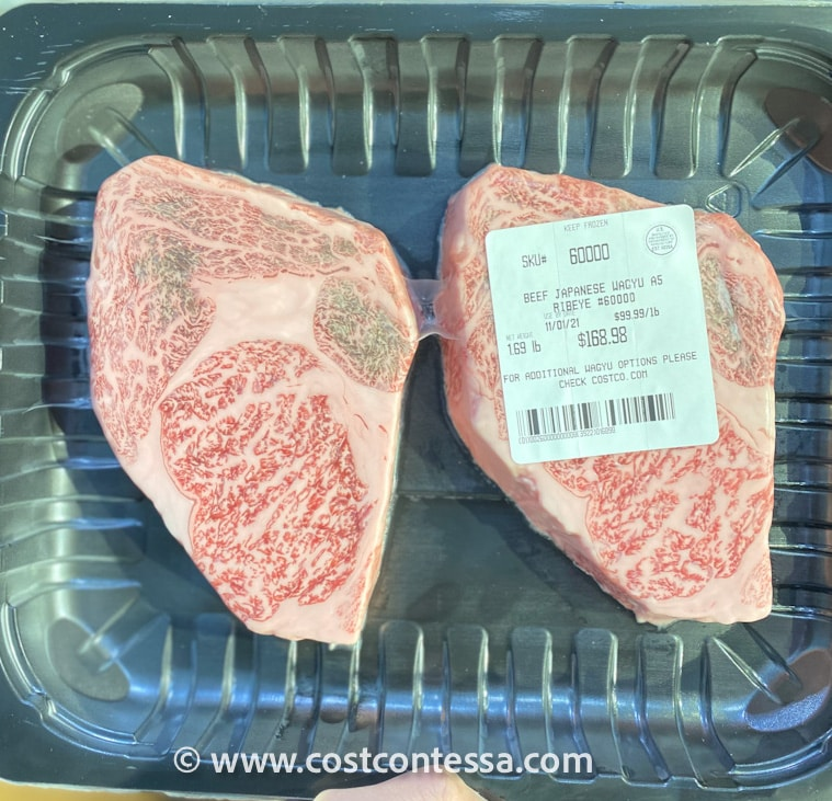 Costco Wagyu Beef - Japanese Ribeye Wagyu Steak A5