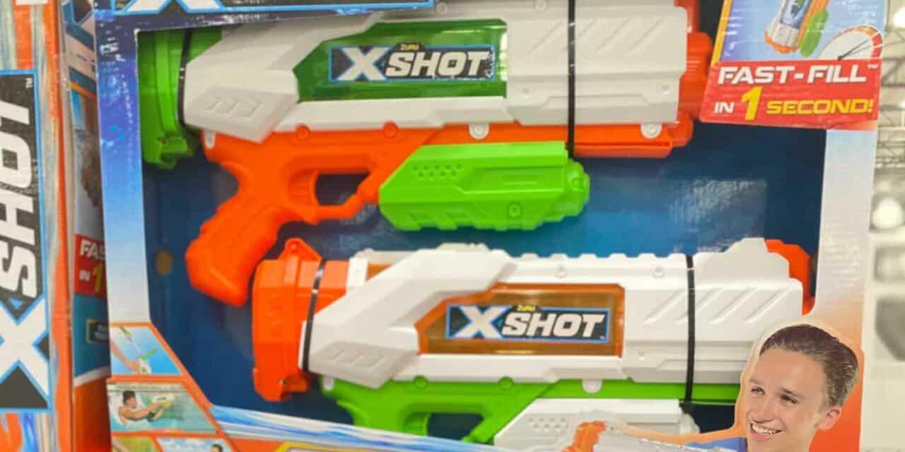Zuru X-Shot Fast Fill Costco Water Guns