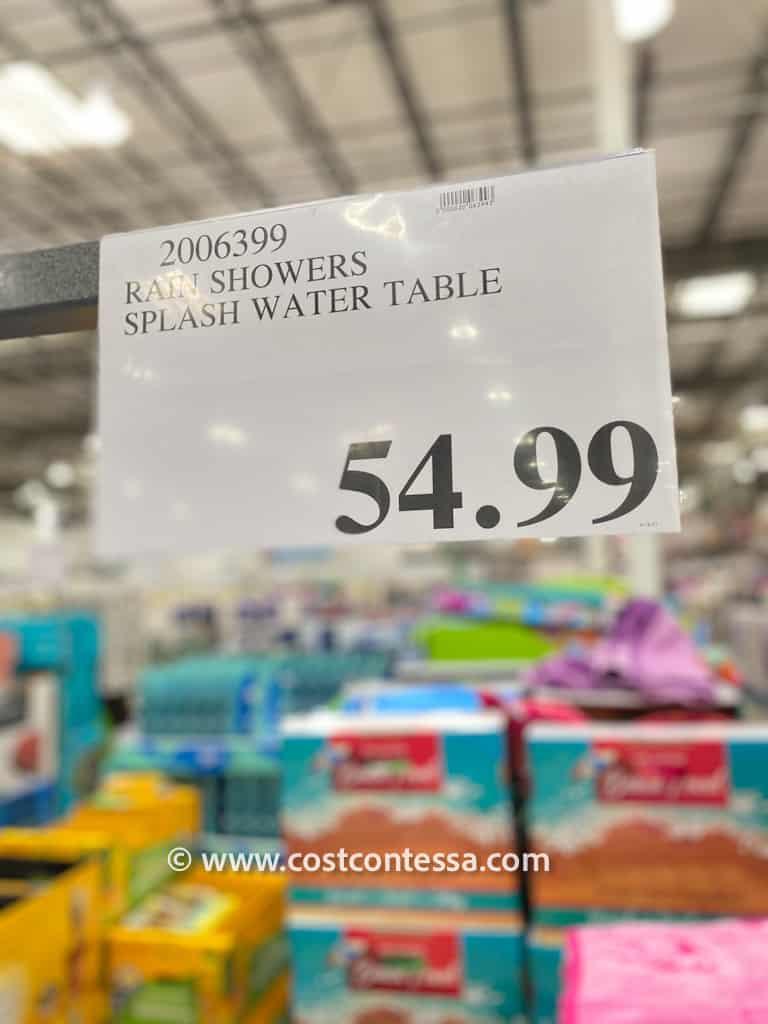 Costco Water Table - Step2 Rain Showers Splash Table at Costco $54.99
