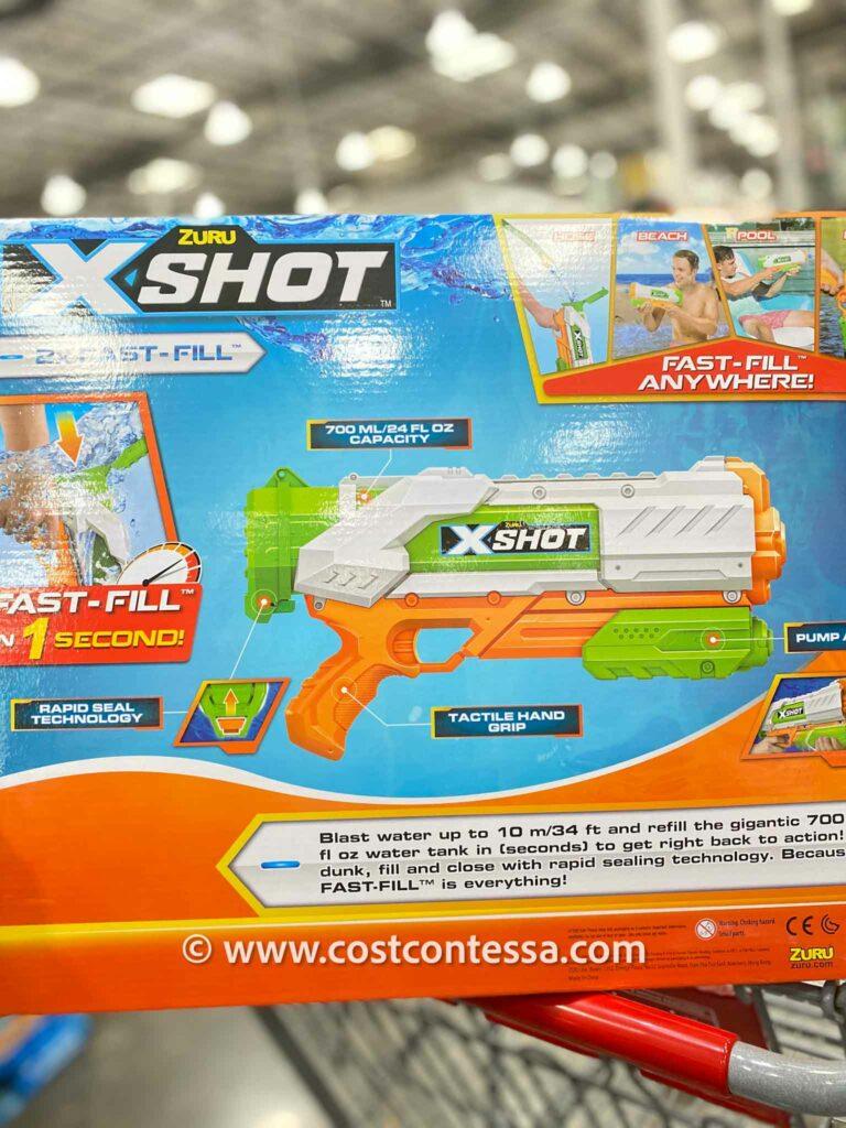 Zuru X-Shot 2-Pack Waterblaster Fast Fill Costco Water Guns