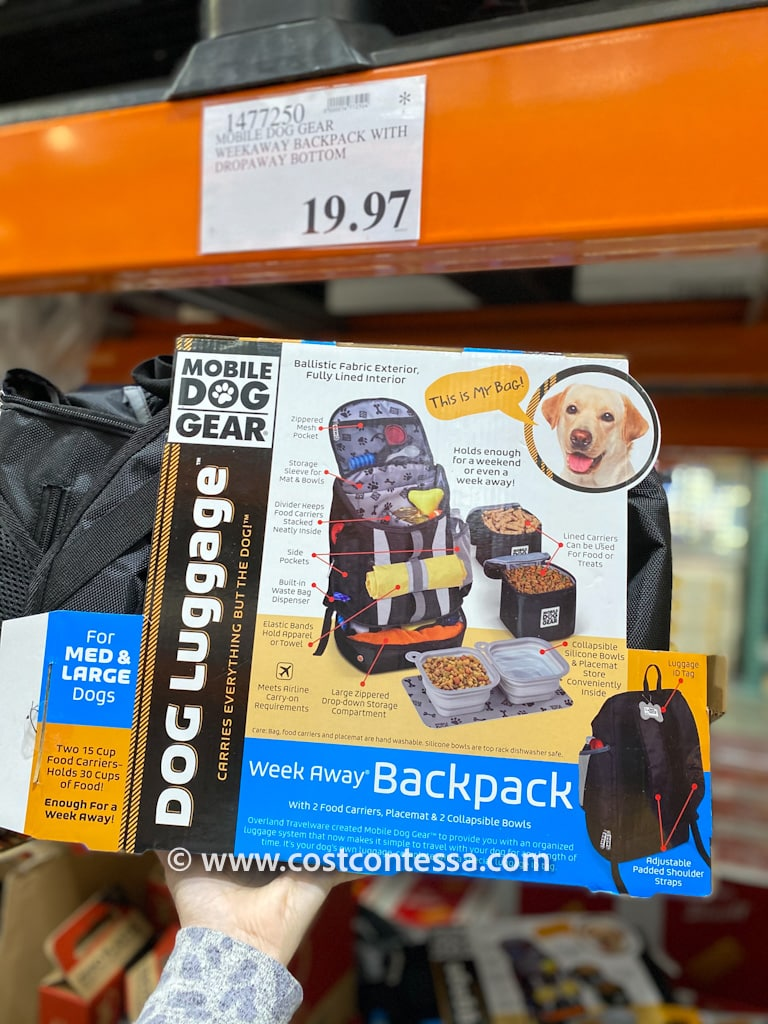 Pet Luggage on clearance markdown at Costco