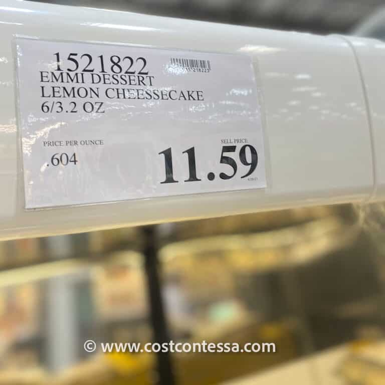 Costco Lemon Cheesecake by Emmi - Made in Italy - Layered Italian Lemon Cheesecakes in Individual Glass Dessert Cups