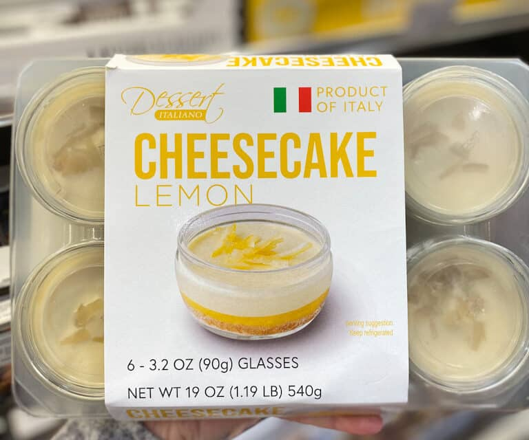 Costco Lemon Cheesecake