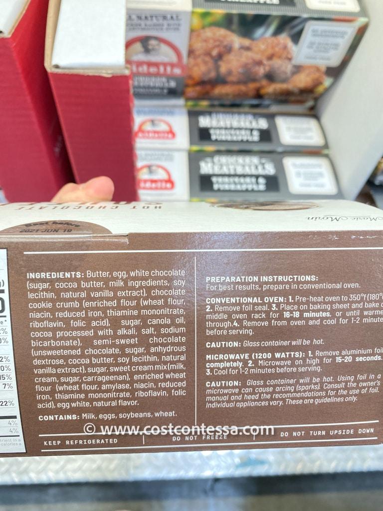 Hot Chocolate Souffle at Costco From Marie Morin - CostContessa