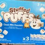 Milk Chocolate Stuffed Puffs Marshmallows at Costco