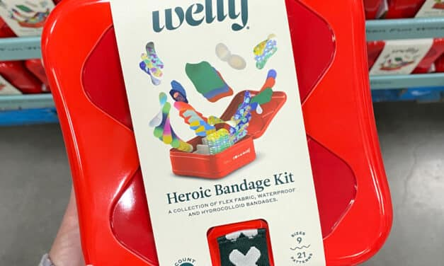 Costco Welly Heroic Bandage Kit