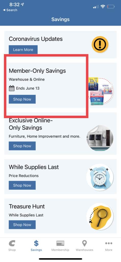 How to View the Most Recent Members Only Savings Coupon Book - Warehouse and Online Savings