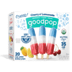Red White & Blue GoodPop Popsicles at Costco