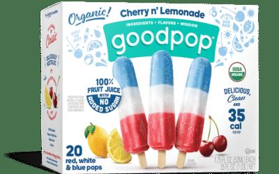 GoodPop Pops Red White Blue