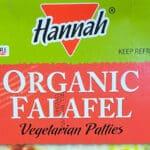 Costco Organic Falafel by Hannah Foods