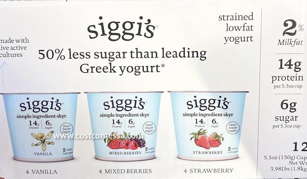 Costco Siggis Yogurt