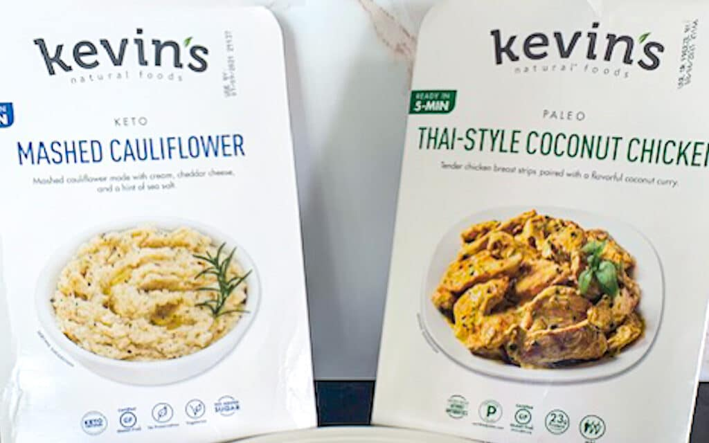 Costco Meal Review Kevin's Coconut Chicken & Mashed Cauliflower