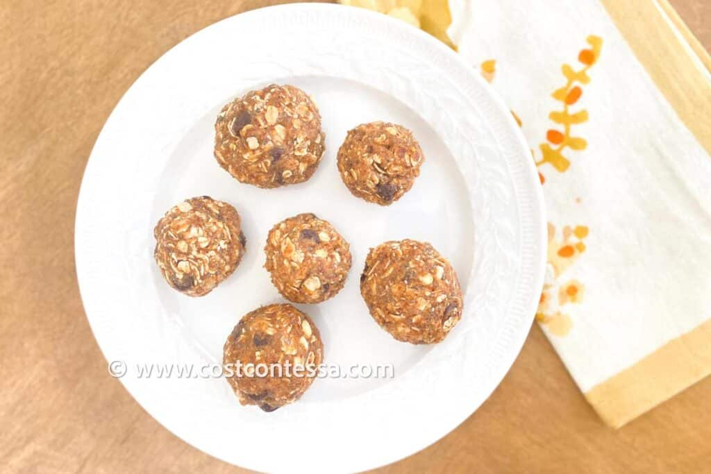 NO BAKE CHOCOLATE CHIP BITES RECIPE - BOOSTED WITH OMEGAS - Fun recipe to make with the kids! No baking required!