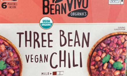 New Organic Vegan Chili at Costco