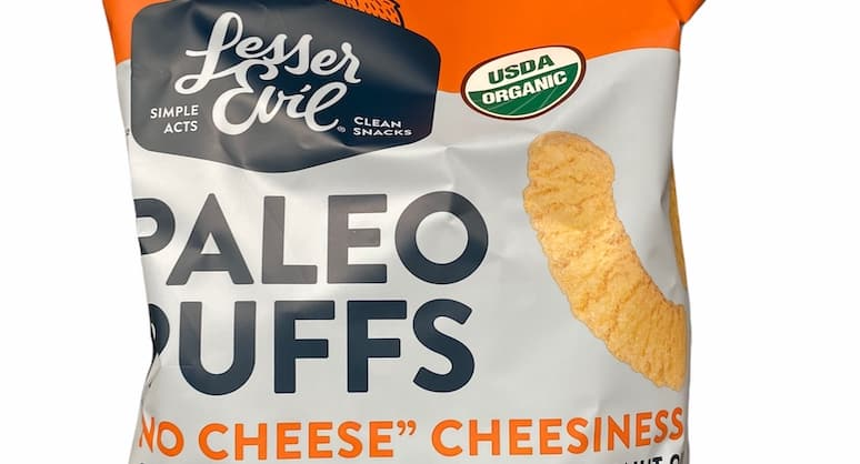 No Cheese Cheesiness Lesser Evil Paleo Puffs at Costco