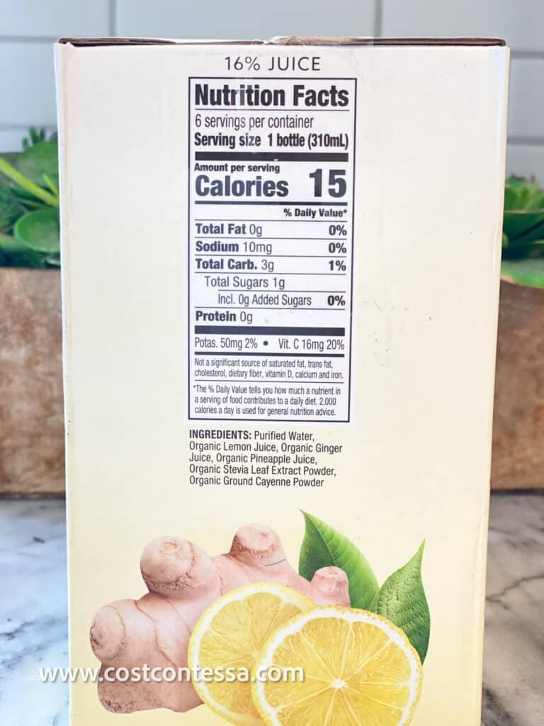 Product Review: Organic Suja Ginger Love Lemonade
