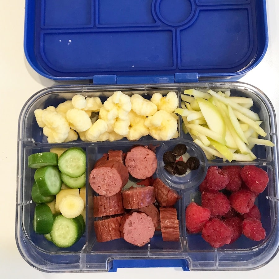 What to pack for school lunch from Costco - healthy bento box ideas!