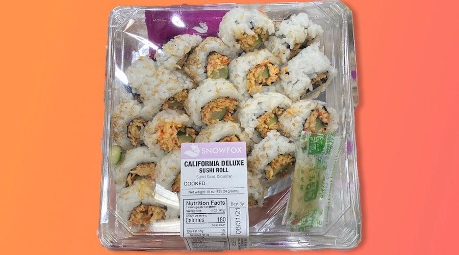 Fresh Sushi at Costco