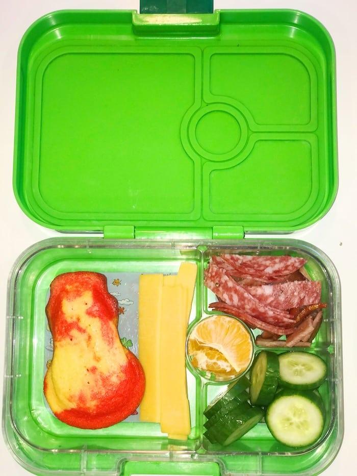 Kindergarten School Lunchbox Idea or Large Snack Box Idea