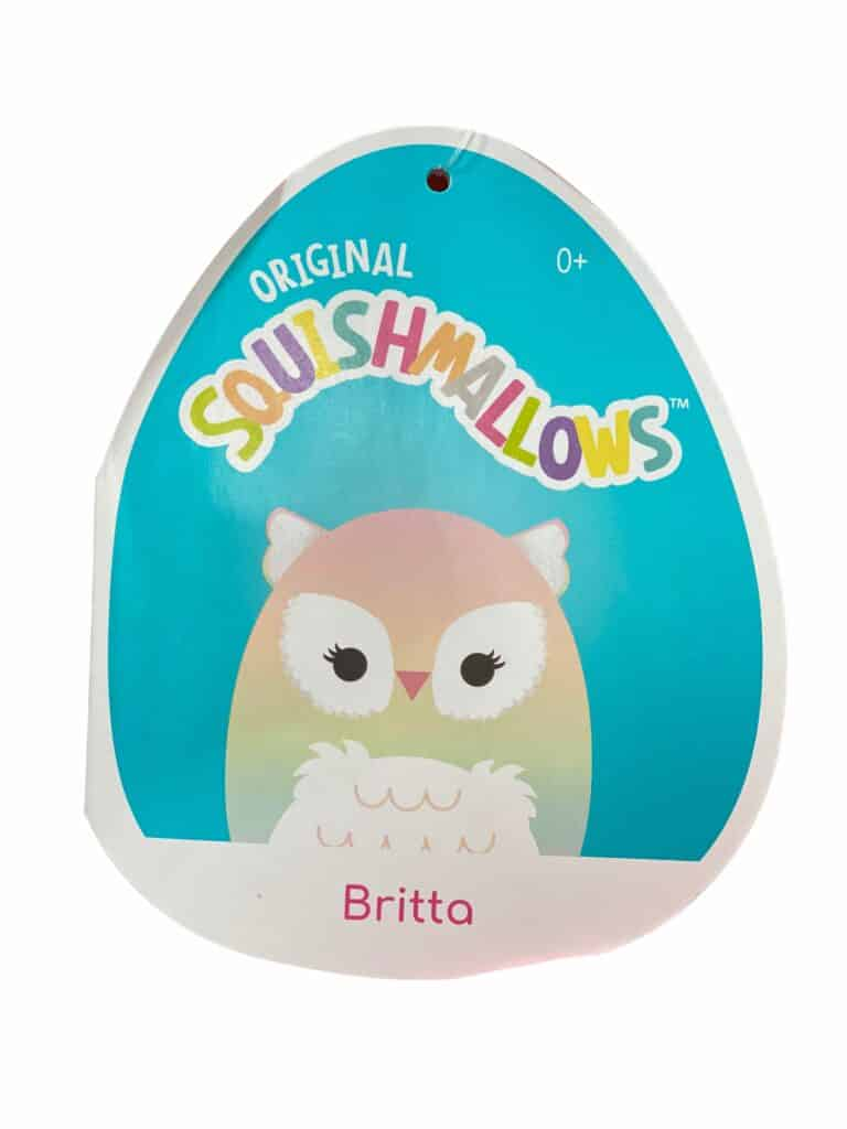 New Costco Squishmallows in-store now! The new August 2021 group includes this Owl Squishmallows Britta. See the others at CostContessa.com