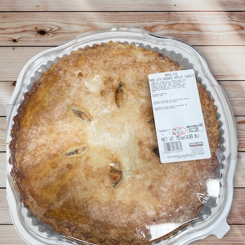 Costco Apple Pie with Organic Apples $12.99 - 4.5lbs - sold in-store at the Costco Bakery