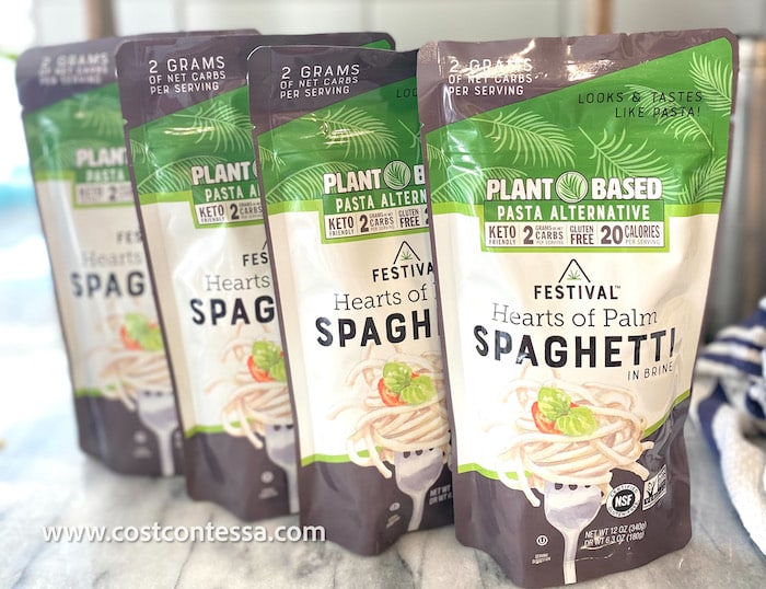 Festival Hearts of Palm Spaghetti at Costco Review