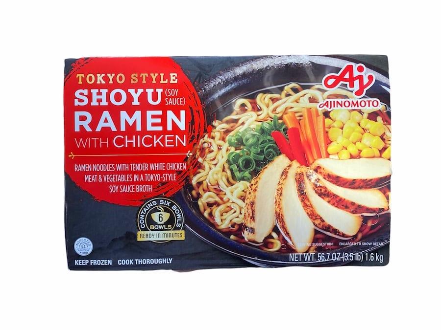 Costco Shoyu Ramen with chicken - Frozen Ramen BowlS - CostContessa