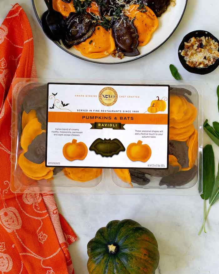 Boo! Nuovo Pasta Halloween Pumpkin & Bats Ravioli at Costco is Back! - CostContessa