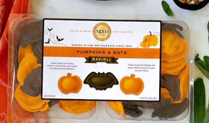 Boo! Nuovo Pasta Halloween Pumpkin & Bats Ravioli at Costco is Back!