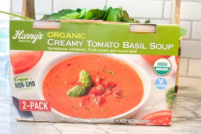 Harry's Creamy Basil & Tomato Soup at Costco