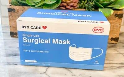 Costco Single Use Face Masks