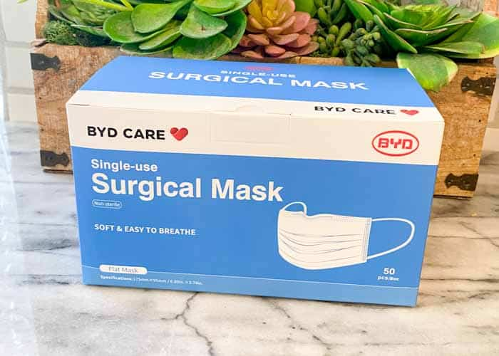 New Costco Single Use Face Masks In-Store