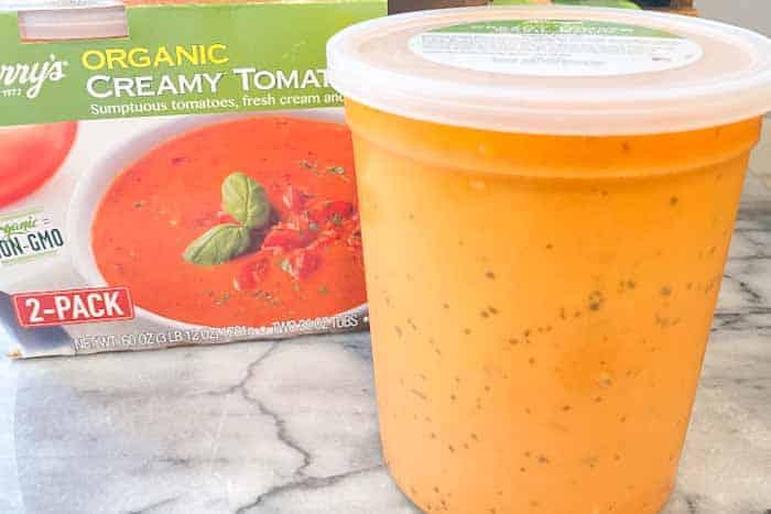 Costco Creamy Tomato and Basil Soup Review