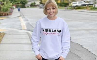 Kirkland Signature Sweatshirt at Costco