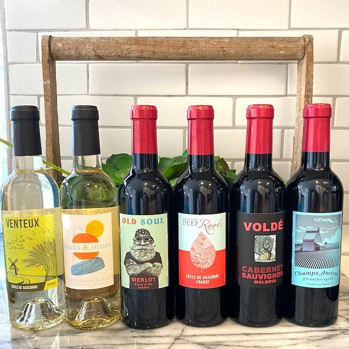 Costco 2021 Wine Advent Calendar Bottles